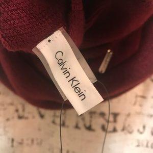 Calvin Klein Accessories - Calvin Klein NWT Infinity Loop Scarf Port Wine